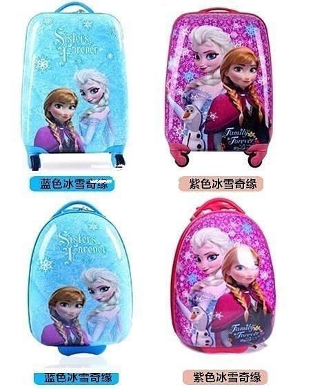 三季 Frozen冰雪奇緣 艾莎安娜兒童行李箱.登機箱~4款【18吋方形】❖796