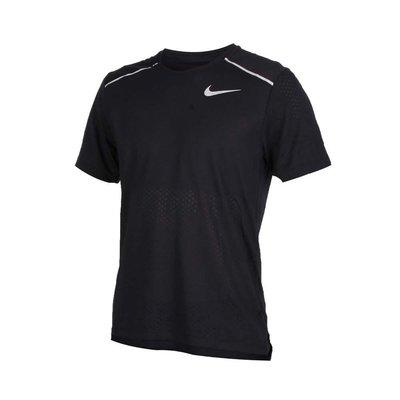 Nike 男款運動慢跑衣 黑色 AQ9920010