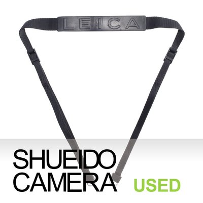 集英堂写真機【1個月保固】中古美品 / LEICA 徠卡 原廠 相機 背帶 含背帶環 M3 M4 M5 M6 17444