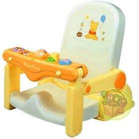 【JPGO】宅配限定!日本進口 小熊維尼 幼兒沐浴洗頭椅 洗澡椅~讓寶寶洗頭不哭哭#922