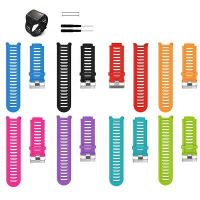 Garmin 佳明 Forerunner 910XT 智能手錶帶 舒適型 矽膠替換腕帶 替換腕帶 台北市