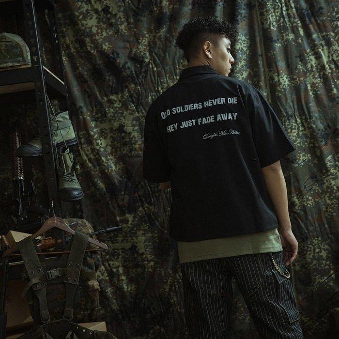 "GHK - ""Veteran Collection"" Logo Shirts 軍工裝襯衫-軍事風 工裝 潮流 街頭"