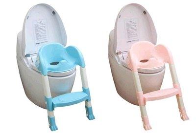 小羅玩具批發-兒童馬桶座 馬桶輔助梯 幼兒學便器 幼兒馬桶梯 顏色隨機出貨(6815)