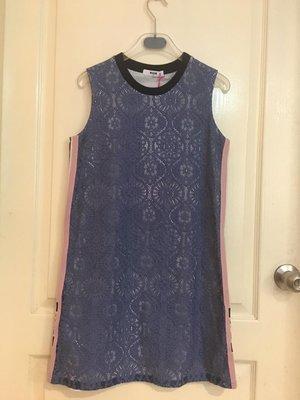超人氣 MSGM  lace overlay shift dress 蕾絲洋裝/長T 大女童14A現貨 優惠價