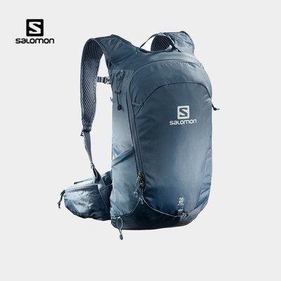 木林森Salomon薩洛蒙雙肩包男女款戶外休閑旅行徒步背包TRAILBLAZER 20