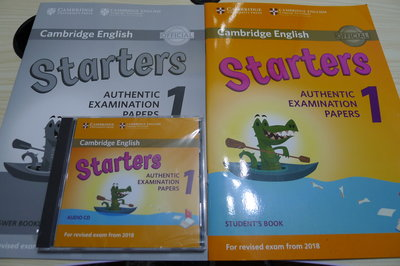 【SHAN】Cambridge English Starters 1 Student's Book for Revise