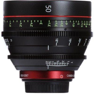 九晴天(租電影鏡頭,租鏡頭) Canon CN-E 50mm T1.3 (EF)