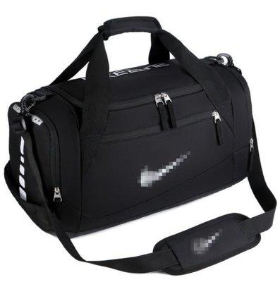 ☜男神閣☞耐克NIKE健身運動手提包短途旅行包大容量行李袋瑜伽包幹濕分離包