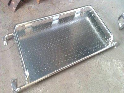 (柚子車舖) 三菱 帆布架 得利卡 菱利 威利 堅達 白鐵不鏽鋼材質#304 專車專用規格 a
