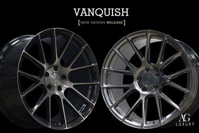 CR輪業 正美國 AG AVANT GARDE  LUXURY VANQUISH 旋壓輕量化19吋鋁圈 完工價11000