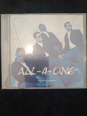 All-4-One 合而為一合唱團 - And The Music Speaks 聽音樂在說話 - 81元起標