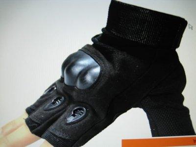 翼豹戶外-黑鷹戰術專用半指手套-透氣-耐磨.品質特優-價廉物美(滑手機-機車族均適用)-