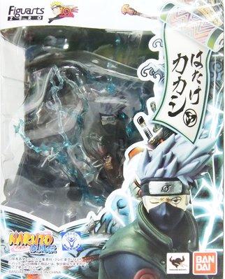 日本正版 萬代 figuarts zero 火影忍者 卡卡西 模型 公仔 日本代購