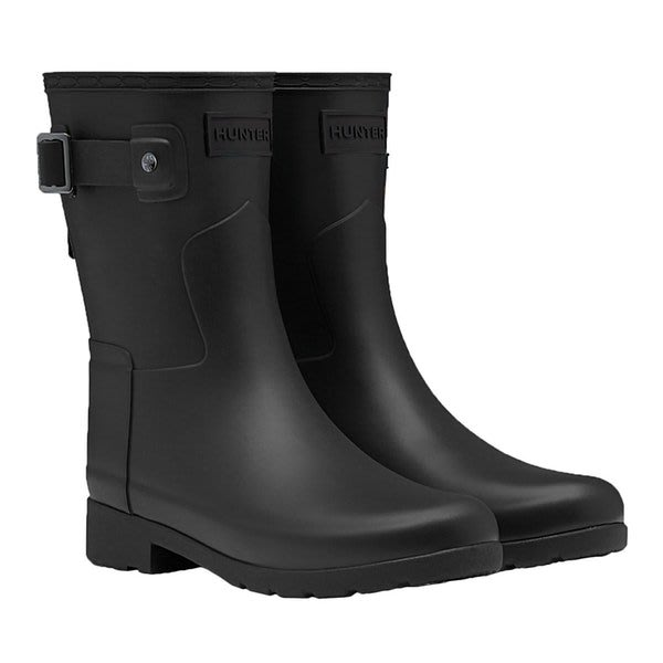 Hunter Refined 黑色雨靴 英國正品代購 4750 含運