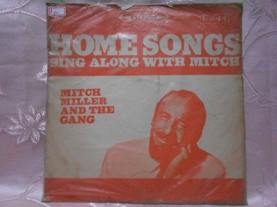 【采葳音樂網】-其他黑膠–〝HOME SONGS SING ALONG WITH MITCH〞其140
