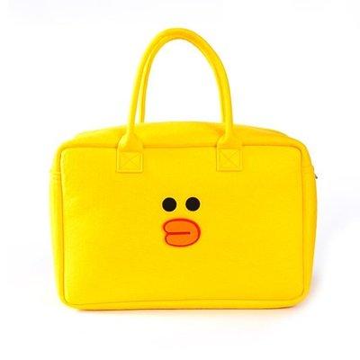 特惠❧韓國卡通布朗熊購物袋大容量戶外旅行包學生摺疊毛氈小熊手提包包 米米旗艦店