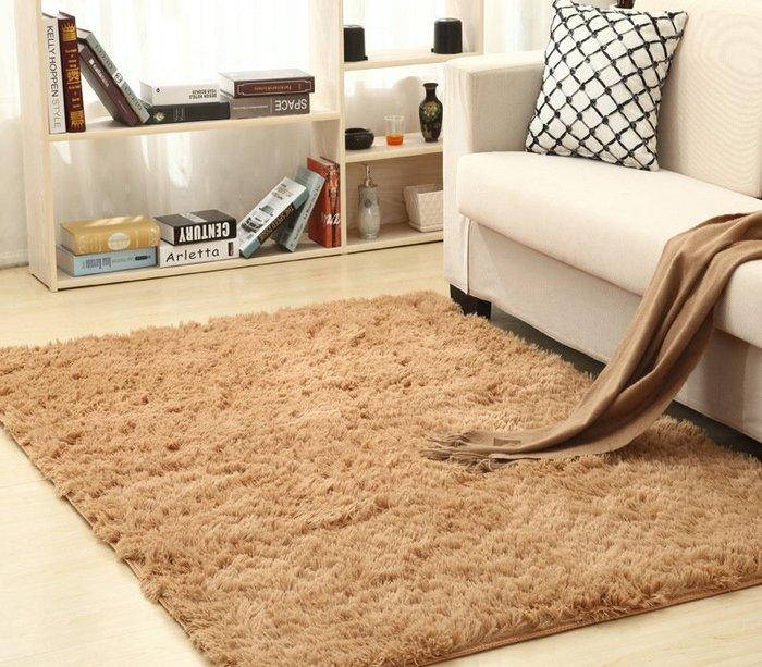 160*80cm 舒柔防滑絲毛地毯 防滑地毯 瑜珈地墊 15色可選室內居家布置  可定製各種尺寸 歡迎詢問