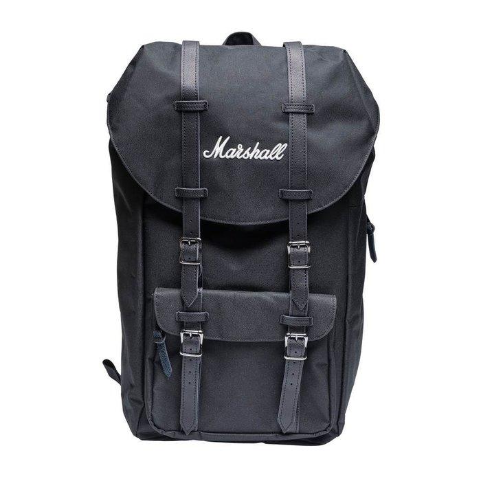 英國品牌 Marshall Runaway 電腦背包黑色白字/各款皆有