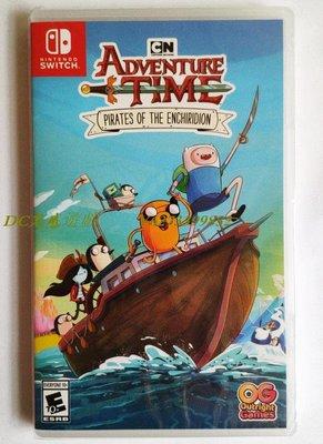 DC光感遊戲 NS switch 探險活寶 海盜的英雄寶典 時光手冊Adventure Time英文