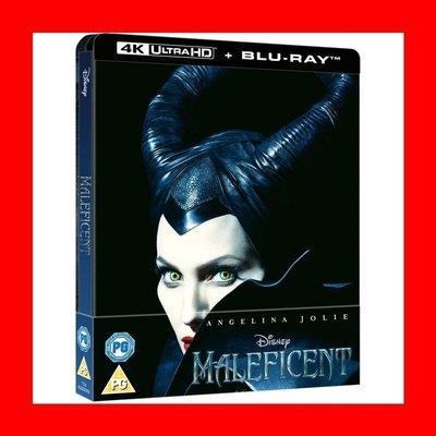 【4K UHD】黑魔女 4K UHD+BD 雙碟限量鐵盒版 Maleficent史密斯任務 安潔莉娜裘莉