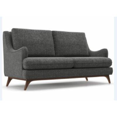 [紅蘋果傢俱]JX-K17014 L型椅 棉麻沙發椅 布藝沙發 沙發椅 簡約 歐式