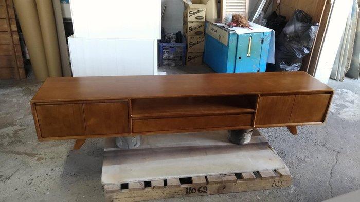 戀戀小木屋 簡約北歐款電視櫃 客製電視櫃