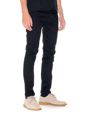 (預購商品) NUDIE TILTED TOR DRY COLD BLACK 原色 緊身 窄管 修身 義製 單寧 牛仔褲