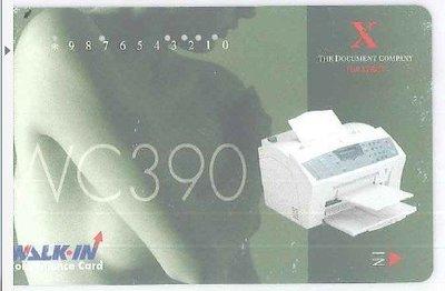 全錄 WALKIN CONVENIENCE CARD 綠 影印卡 列印卡 複印卡 列印專用卡 COPY卡 無餘額 收集卡