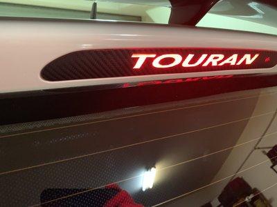 ** 福品小舖 ** 福斯 VW  03-18 TOURAN  TIGUAN 貼紙 改裝 第三煞車燈 煞車燈