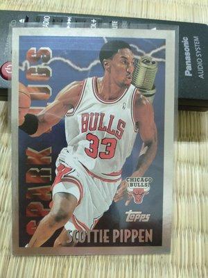 96 topps spark plugs pippen 特卡一張 老卡 品項如圖