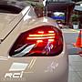 保時捷 PORSCHE CAYMAN BOXSTER 987 導光式樣 尾燈組 跑馬方向燈 LED倒車燈