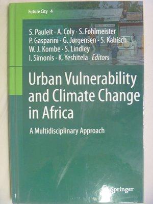 月界】Urban Vulnerability and Climate Change in Africa〖大學社科〗AGT