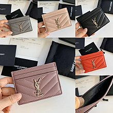 $269 - bag wallet  card holder Y 真皮 魚子醬 高質 經典款 卡包 卡夾 袋 銀包 錢包 5色