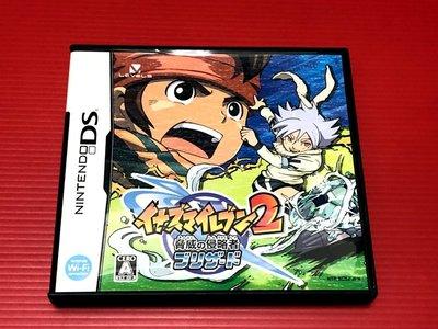 ㊣大和魂電玩㊣任天堂NDS遊戲 閃電11人 威脅的侵略者 寒冰版{日版}編號:I2---2DS 3DS 主機可玩