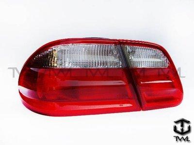 《※台灣之光※》全新BENZ賓士 W210 96 97 98 99 00 01 02年高品質紅白尾燈內側台灣製