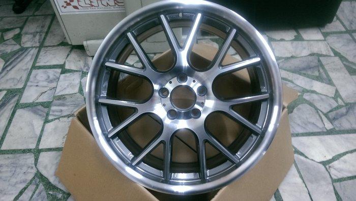 【AS輪胎】類 美國ADV.1 賓士專用 5*112 W204 W212 18吋 前後配 彷2片 灰底車亮面