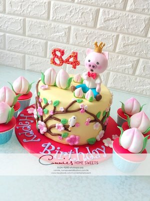 【Connie's Home Sweets】生日蛋糕專門店 手工蛋糕 Tailor Made Cake Customized Cake