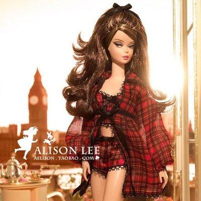 【集千】 代購 芭比珍藏版名模內衣9號ST Highland Fling Silkstone Barbie