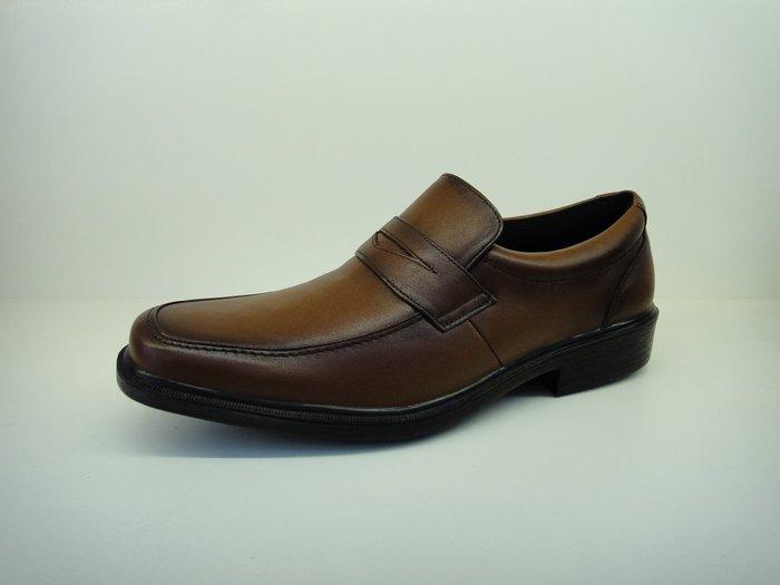 [WALKER 休閒運動] 日本原裝進口MOON  STAR 月星 免帶式紳士氣墊皮鞋  黑.咖2色