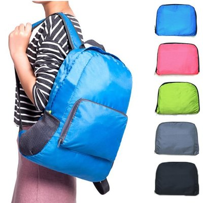 【JD Shop】韓版旅行可折疊雙肩包 多功能 摺疊雙肩背包 收納包 旅行包 旅行袋