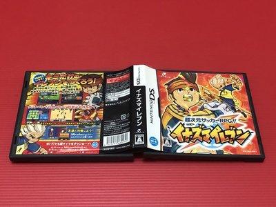 ㊣大和魂電玩㊣任天堂NDS遊戲 閃電11人 十一人 超次元足球RPG 封面紙或說明書有微損{日版}編號:I2