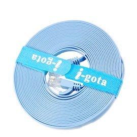 【電子超商】i-gota Cat.6超薄型網路線 5米 1.35mm線材厚度 2.5倍傳輸效能《FRJ4505》