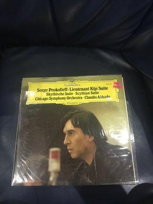 開心唱片 (PROKOFIEFF / LIEUTENANT KIJE SUITE) 二手 黑膠唱片 DD1011(私藏)