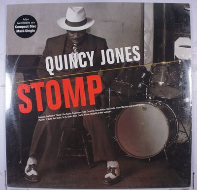 《全新美版單曲黑膠》Quincy Jones – Stomp