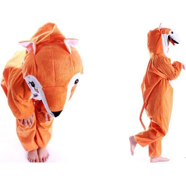 5Cgo【鴿樓】會員有優惠  24652620549 兒童表演服裝 演出服裝 卡通  動物衣服 狐狸服裝 居家服 睡衣
