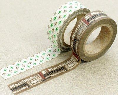 *YOOWOO*A【韓國空運 Decorate YOUR item 多功能裝飾 15mm 和紙膠帶 貼紙 ~ Benny 邦妮】一組2入