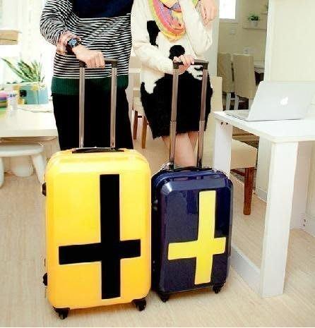 【優上精品】皮箱子學生韓國拉桿箱旅行箱包登機箱20寸行李箱男女(Z-P3203)