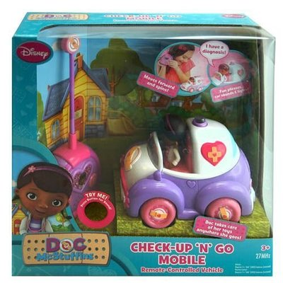 DOC MCSTUFFINS CHECK UP 'N GO MOBILE 小醫師大玩偶對講機