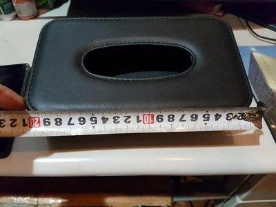 九成新皮革式 面紙盒 用掛勾的 可以放在車上 臥房優惠免運費 超商取貨