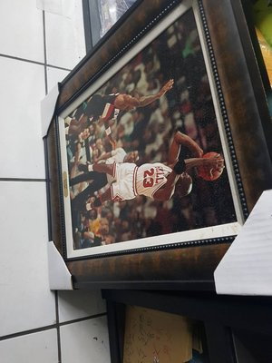michael jordan #2  長57cm寬67cm 美國製 精選照片相框